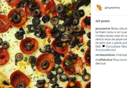 www.juicysantos.com.br - pizza de pepperoni da red sun pizza