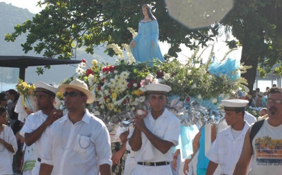 iemanjá em Santos