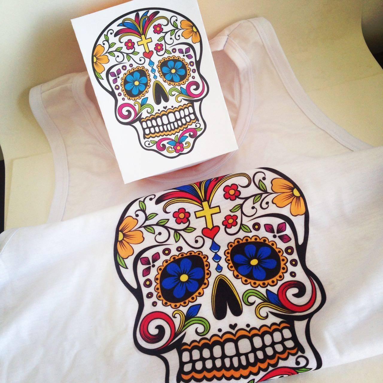 www.juicysantos.com.br - camiseta de caveira mexicana