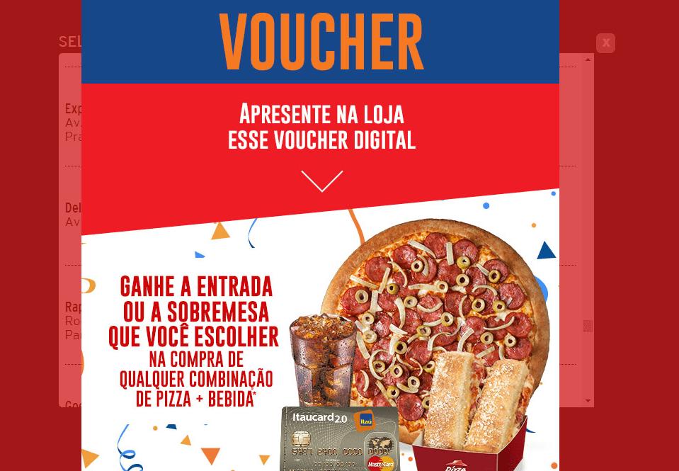 www.juicysantos.com.br - promoção na pizza hut de santos