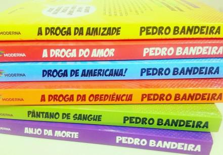 www.juicysantos.com.br - livros pedro bandeira os karas