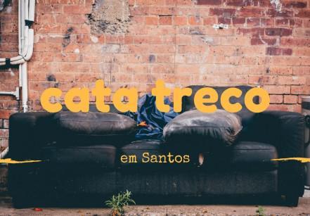 Cata treco em Santos