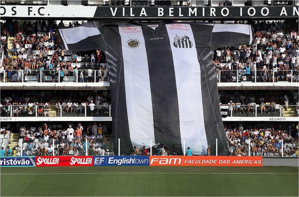 Os melhores jogos do Santos vão virar livro