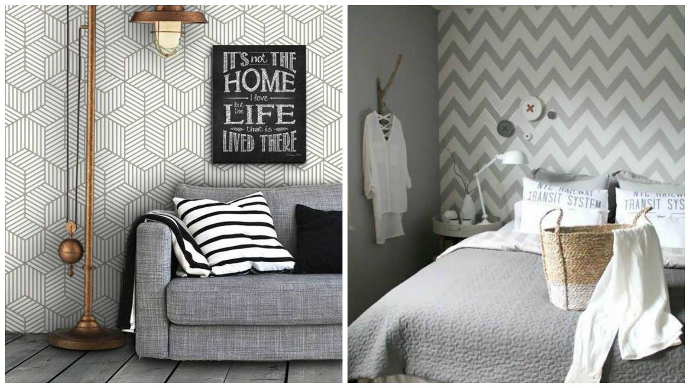 www.juicysantos.com.br - dicas de decoração para imóveis alugados papel de parede