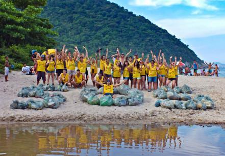 Voluntários do EcoFaxina
