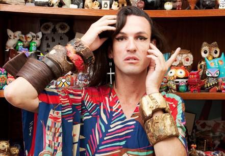Dudu Bertholini em sua casa (Foto: Tuca Reines/Arquivo Vogue)