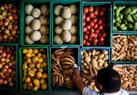Banco de Alimentos em parceria com a Seven