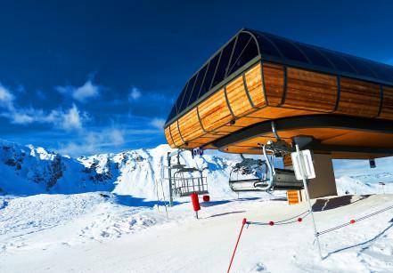 Courchevel, resort de ski na frança
