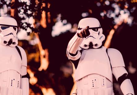 www.juicysantos.com.br - stormtroopers no festival geek santos
