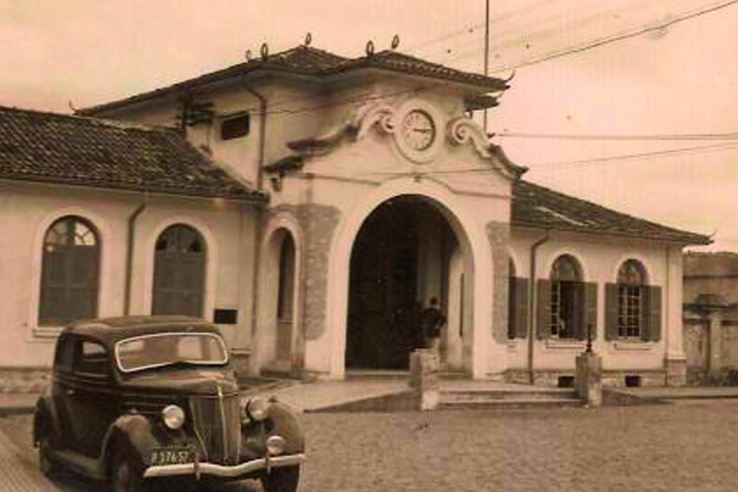 estação de santos fase sorocabana 1942