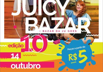 Cartaz de divulgação do Juicybazar