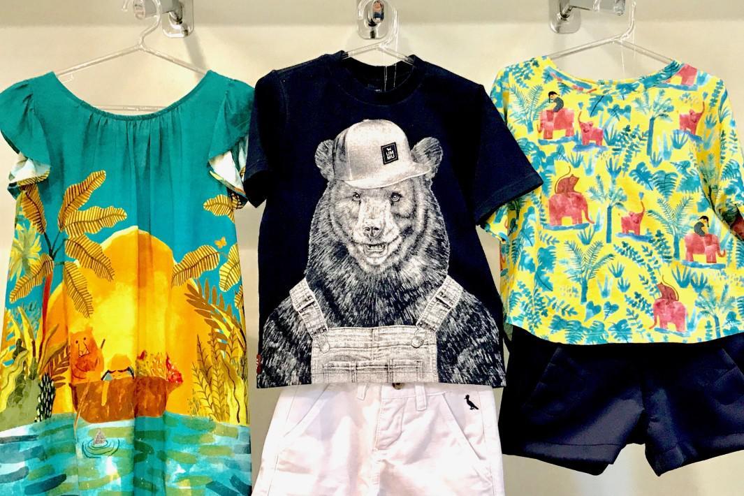 www.juicysantos.com.br - estampas de animais em moda infantil