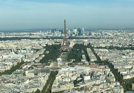 Vista da Torre de Montparnasse