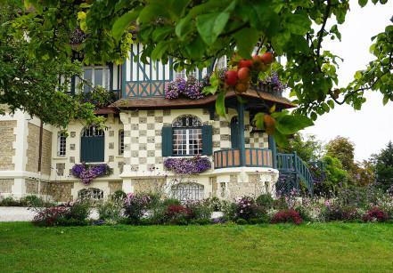 Villa Strassburger em Deauville - detalhe da casa