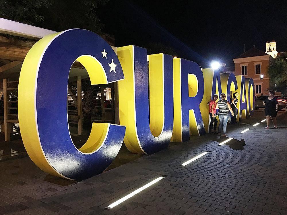 Letreiro de Curaçao