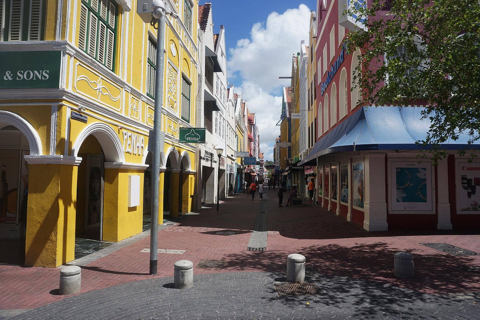 A famosa loja Penha, em Curaçao