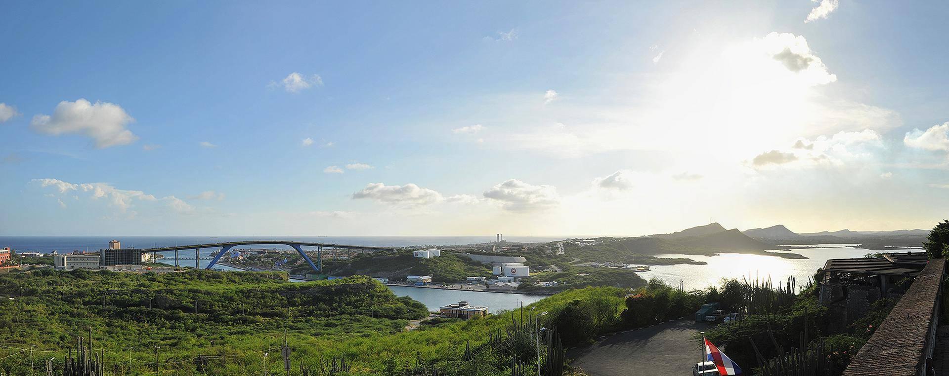 Vista do Fort Nassau