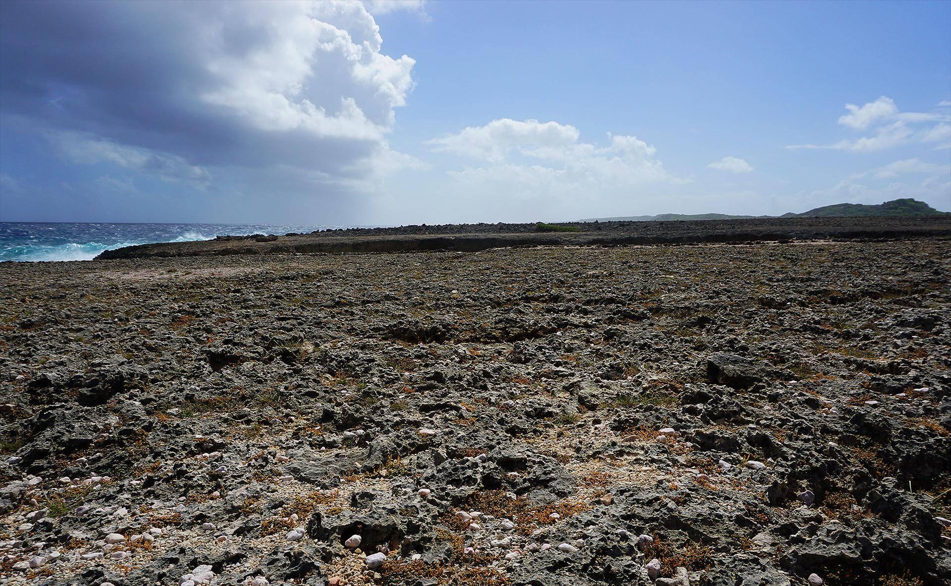 Shete Boka - A paisagem