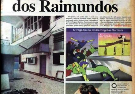 www.juicysantos.com.br - show dos raimundos em santos em 1997 tragédia