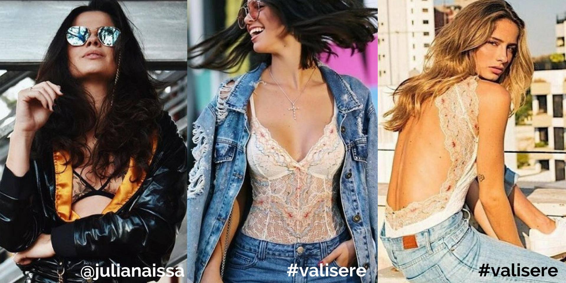 www.juicysantos.com.br - inspirações instagram para usar lingerie aparecendo