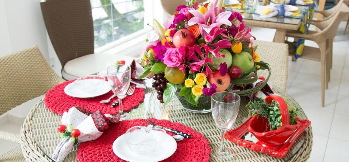 www.juicysantos.com.br - decoração de mesa de natal