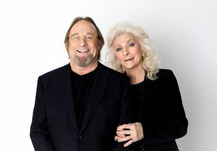Stephen Stills and Judy Collins portrait by Anna Webber 12/05/20
