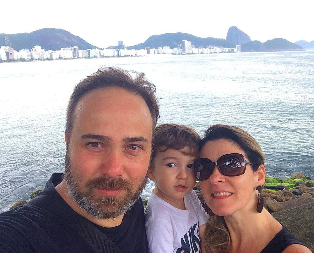 Vinicius e Juliana Souza