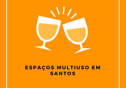 Espaços multiuso em Santos
