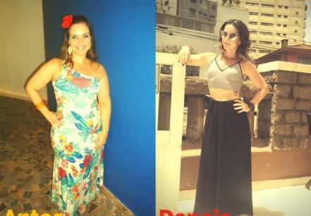 www.juicysantos.com.br - antes e depois elaine lopes emagreceu 28 kg em um ano