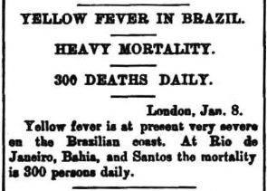www.juicysantos.com.br - febre amarela em santos século XIX