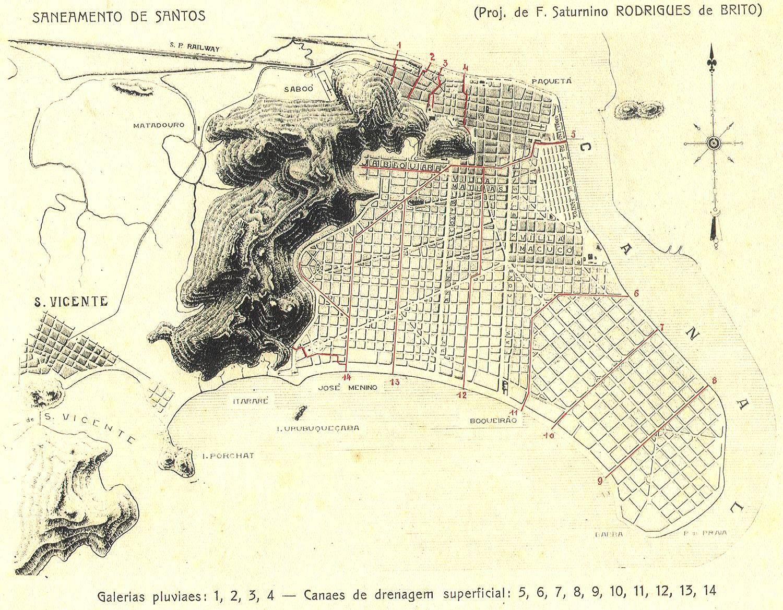 www.juicysantos.com.br - mapa dos canais saturnino de brito