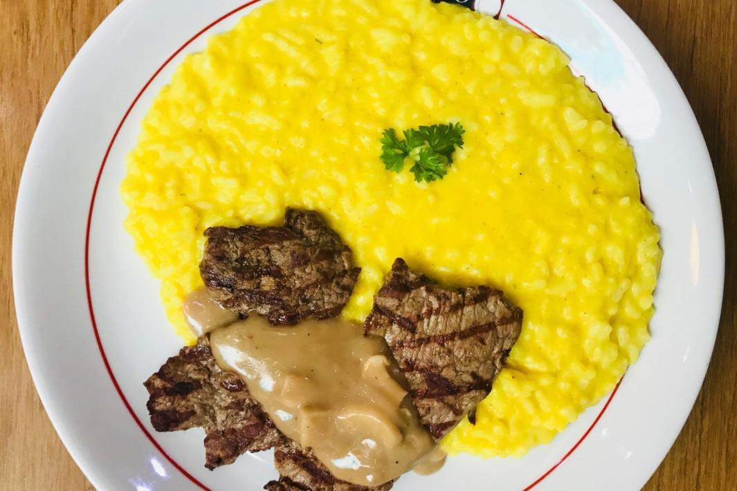 www.juicysantos.com.br - filé mingon com risoto milanês