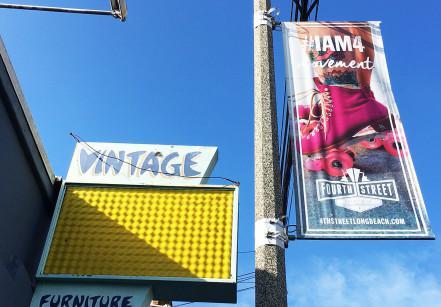 Distrito vintagem em Los Angeles