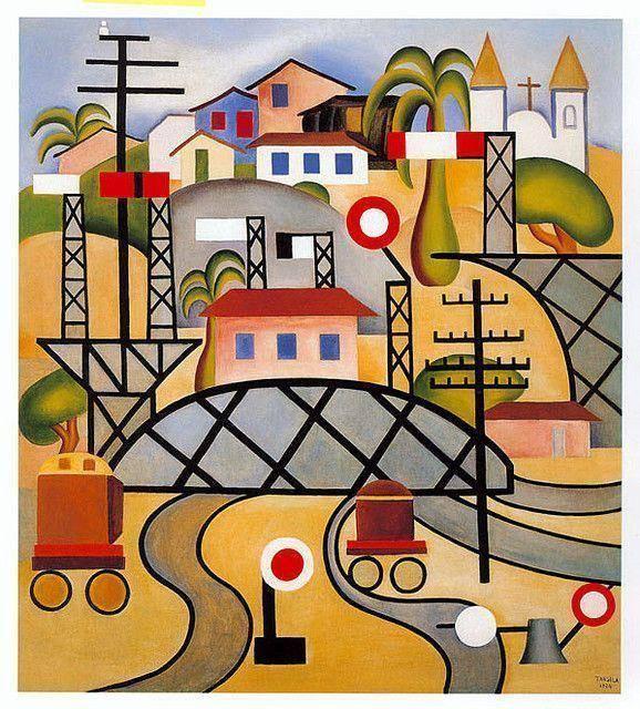 www.juicysantos.com.br - tarsila do amaral no museu de arte contemporânea de são paulo
