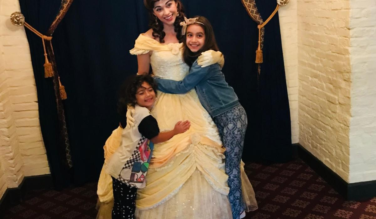 www.juicysantos.com.br - café da manhã com as princesas no akershus hall no epcot center