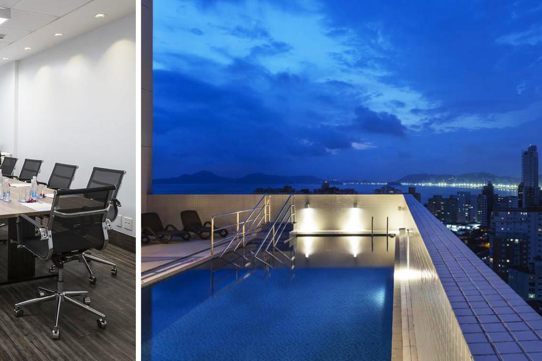 Hotel Comfort em Santos