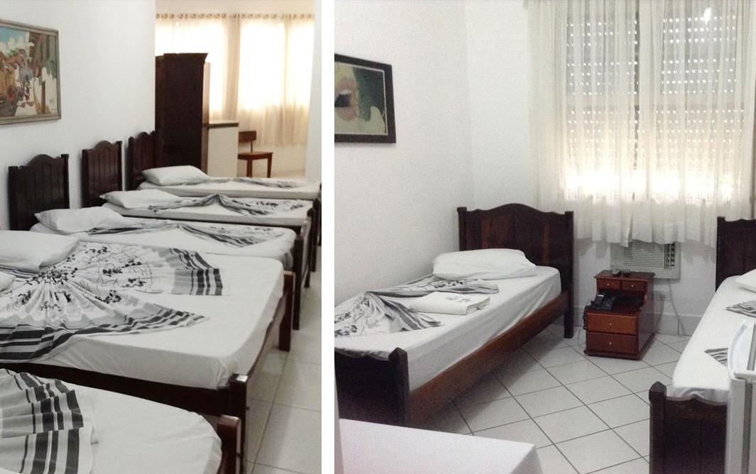 Hotel barato em Santos: os quartos do Ritz