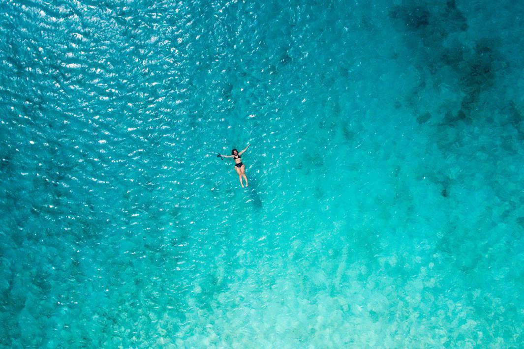 Klein Curaçao vista de cima