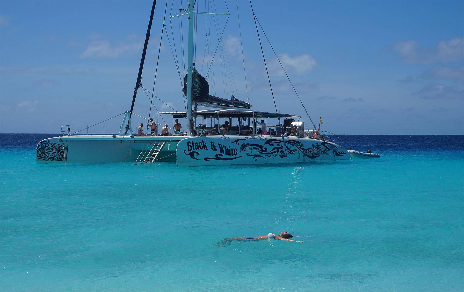O mar de Klein Curaçao