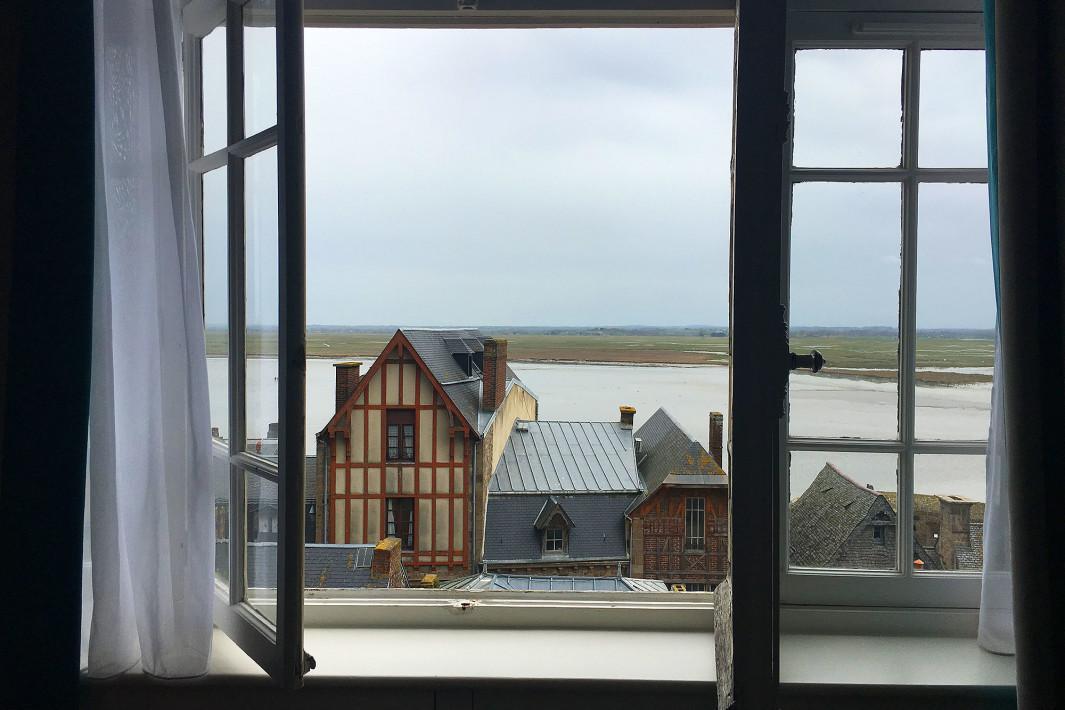 Vista do Les Terraces Poulard