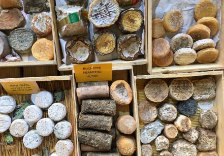 Mercado de rua em Deauville