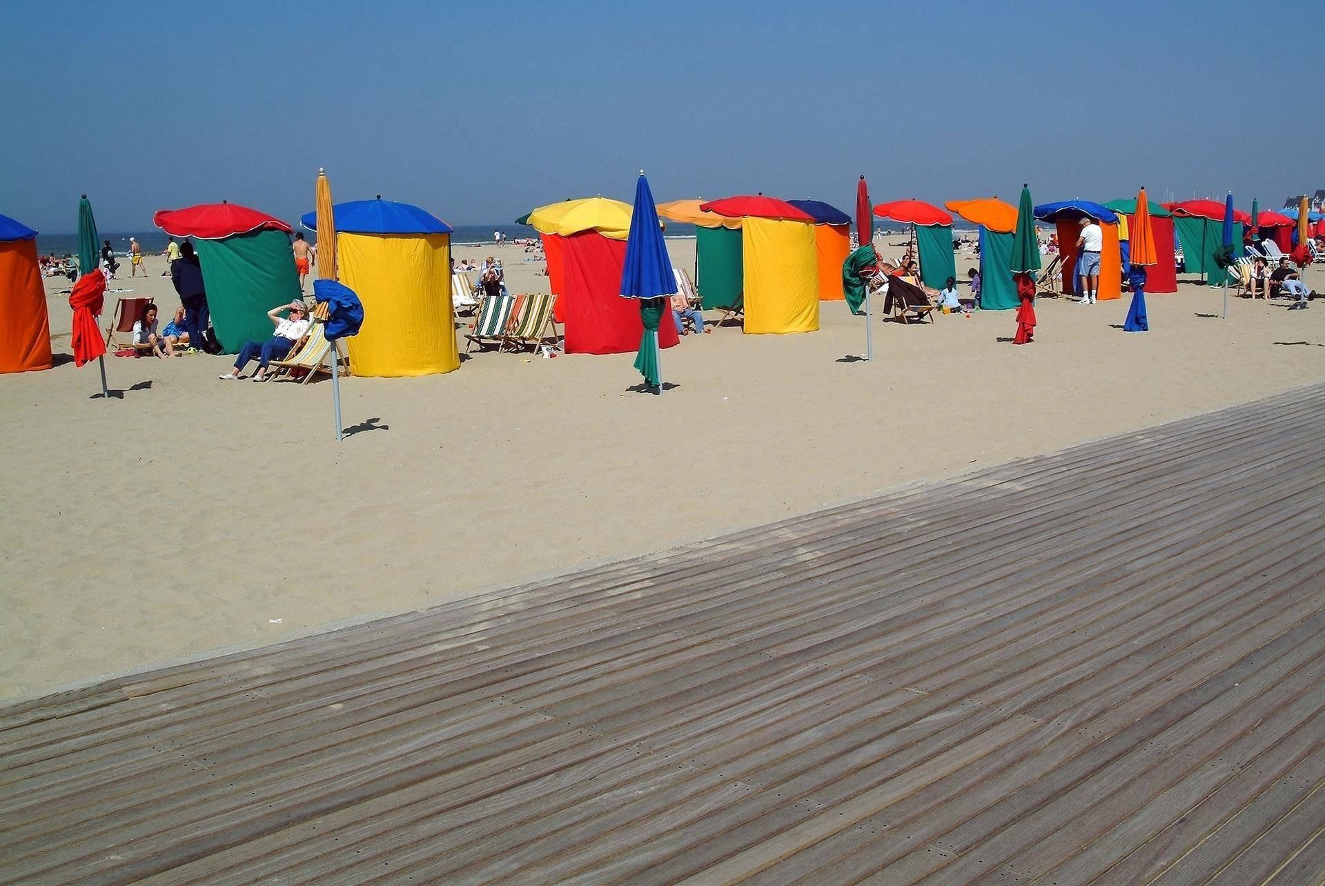 Praia em Deauville