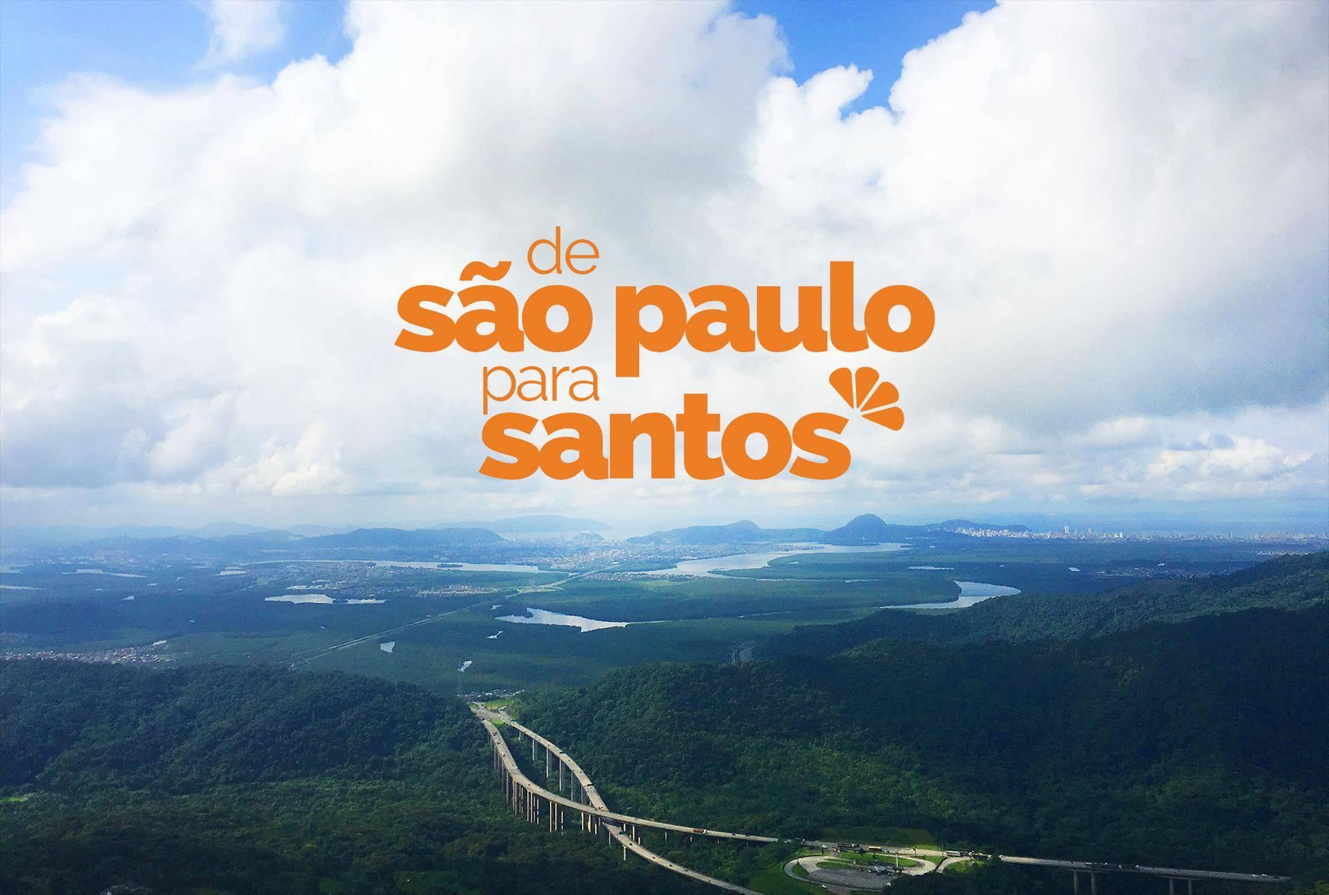 Caminho de Santos para São Paulo - Via Anchieta