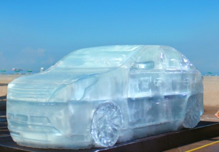 www.juicysantos.com.br - carro de gelo da shell em santos
