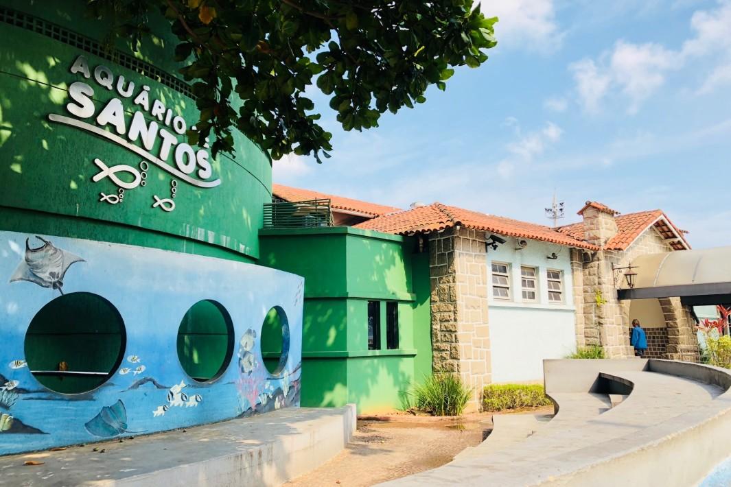 www.juicysantos.com.br - fachada do aquário de santos sp