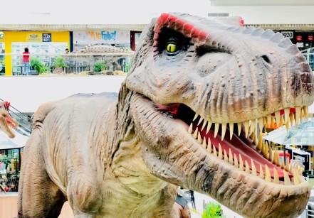 www.juicysantos.com.br - exposição dinossauros em santos