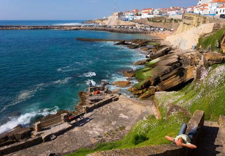 Costa da Ericeira em Portugal