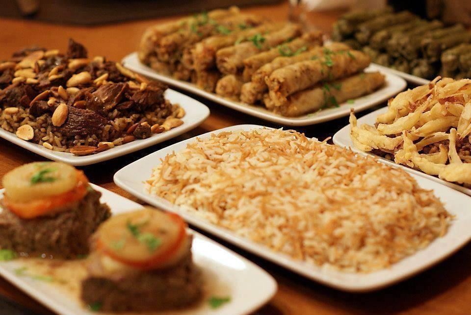 festival comida arabe em Santos