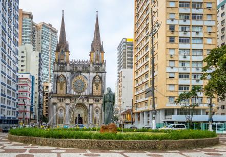 Igreja do Embaré em Santos