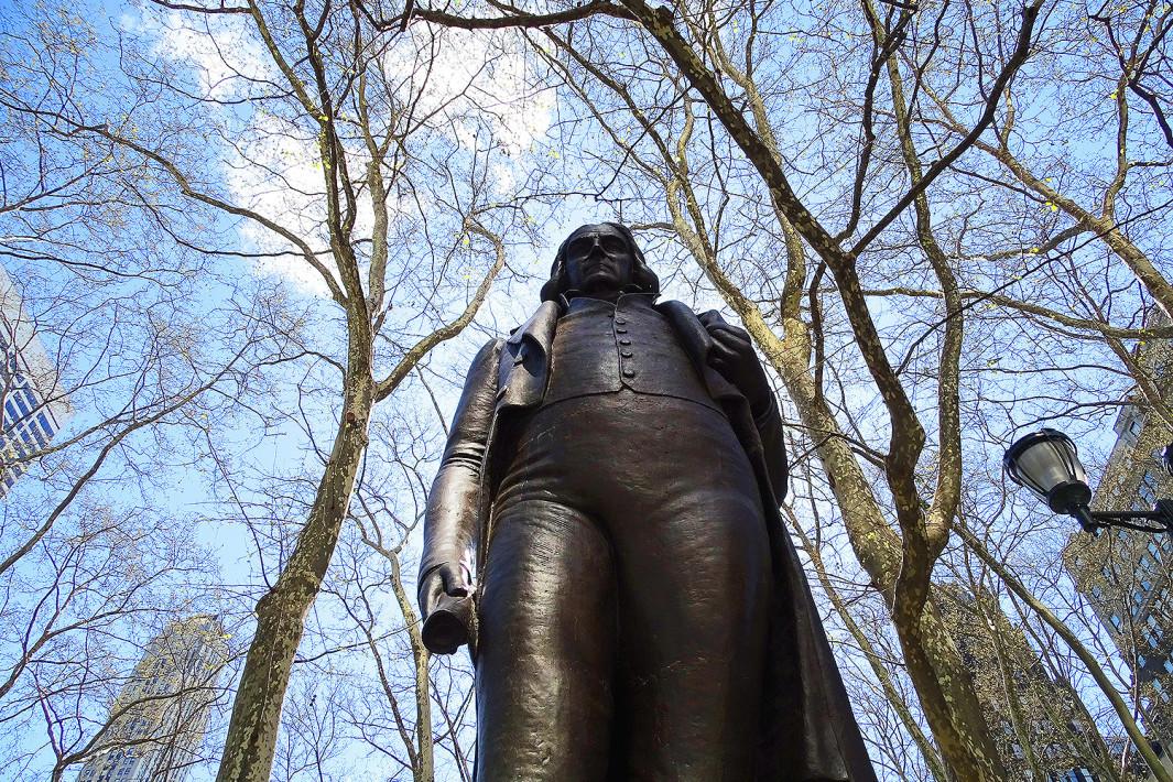 Estátua de José Bonifácio em Nova York